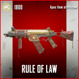 Rule of Law R-99 Legendary Apex Legends Skin