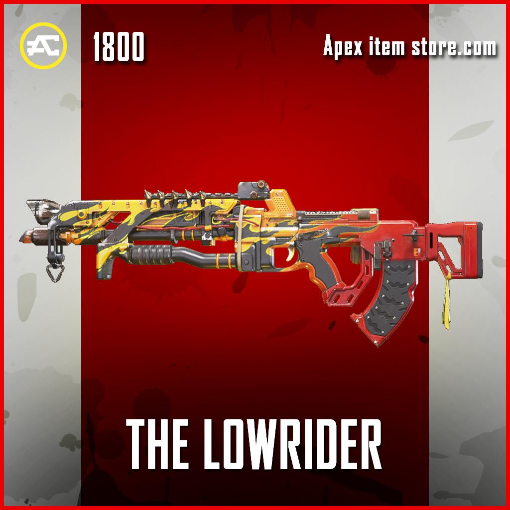 The Lowrider Flatline Apex legends skin
