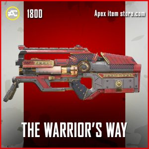 The Warrior's Way L-Star Legendary apex legends skin
