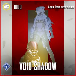 Void Shadow Wraith apex legends banner frame