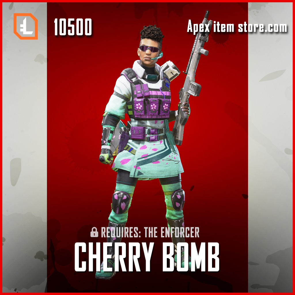 Cherry Bomb Bangalore legendary apex legends skin