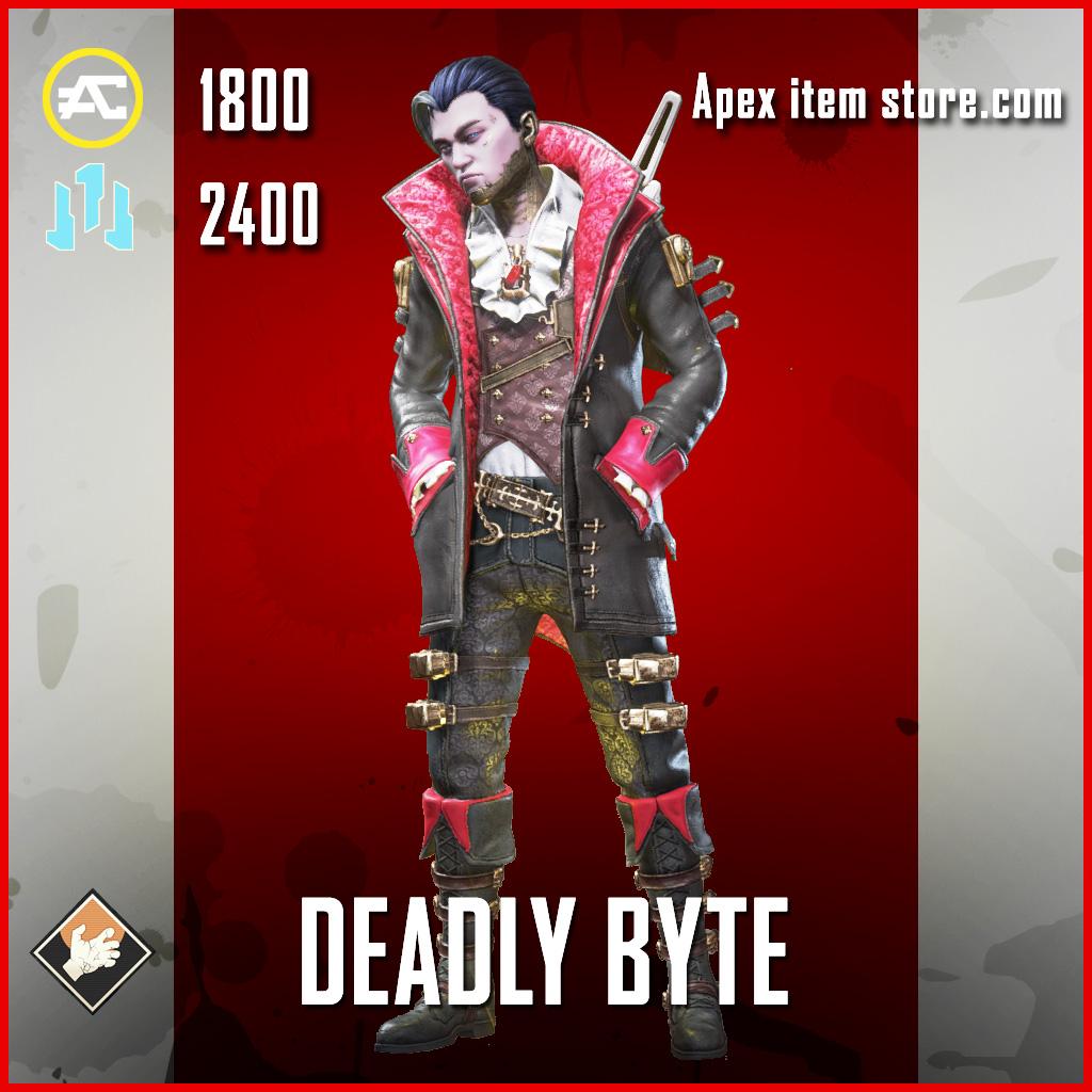 Deadly Byte legendary crypto apex legends skin