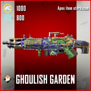 Ghoulish Garden Epic Spitfire Apex Legends Skin