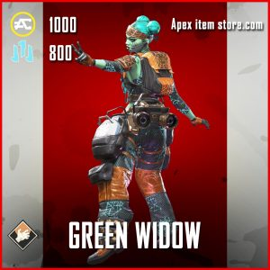 Green Widow lifeline apex legends skin