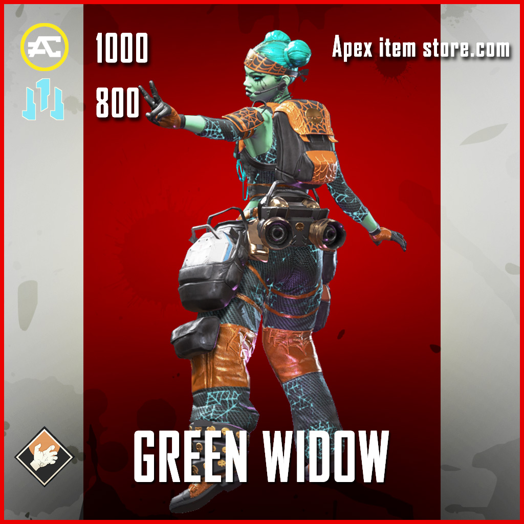 Green Widow lifeline apex legends skin