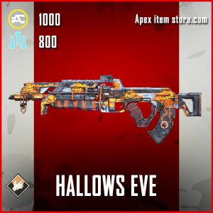 Hallows Eve Flatline Apex Legends skin