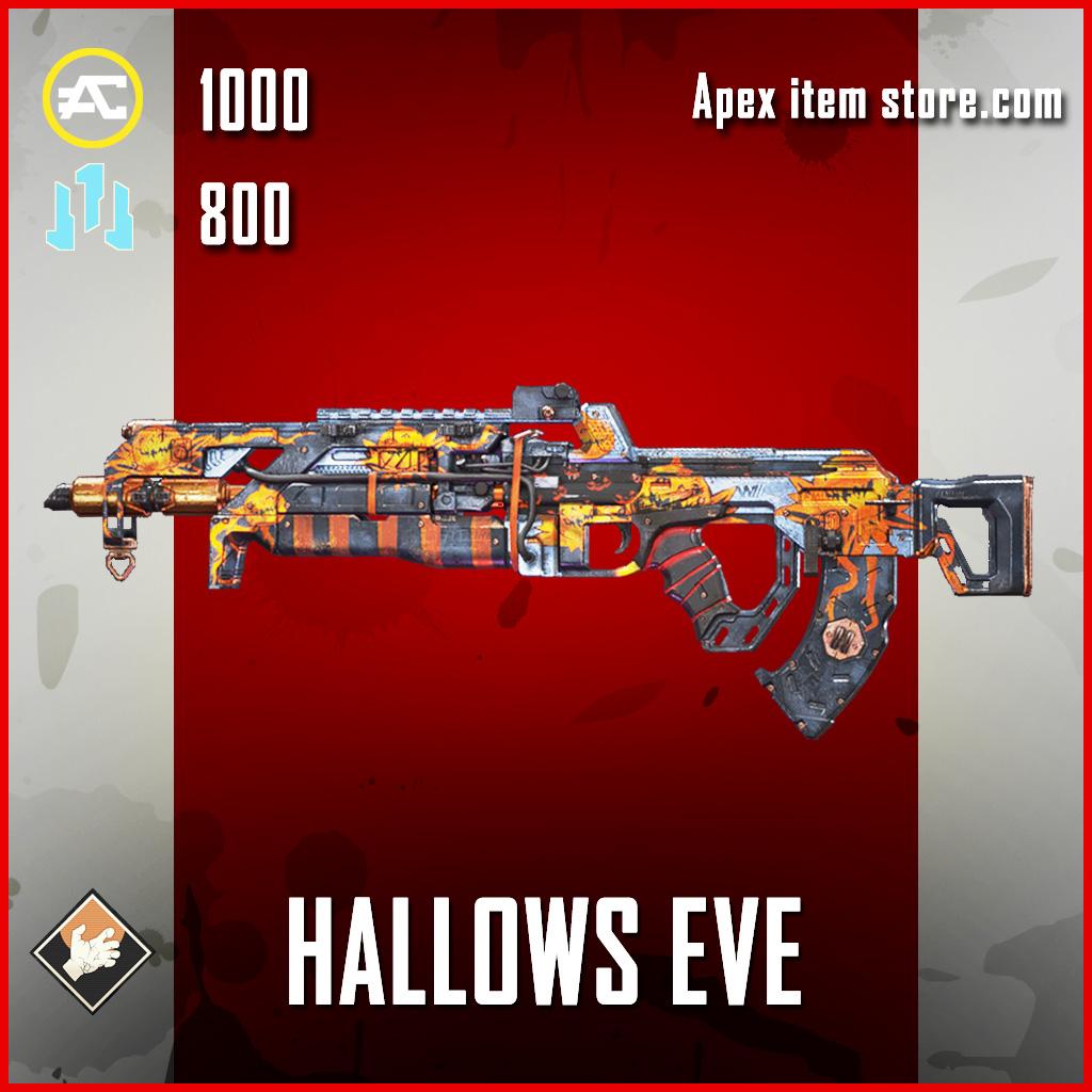 Hallows Eve Flatline Apex Legends skin