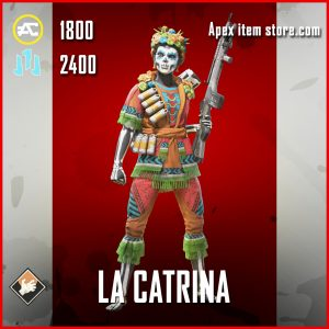 La Catrina bangalore apex legends skin