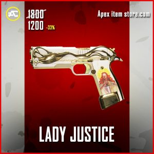 Lady Justice Legendary P2020 apex legends skin