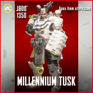Millennium Tusk legendary apex legends gibraltar skin