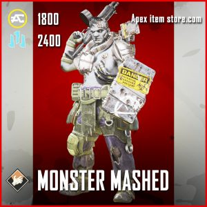 Monster Mashed Gibraltar Legendary Apex Legends skin