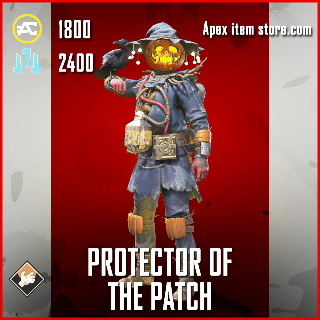 Protector of the patch bloodhound legendary apex legends skin