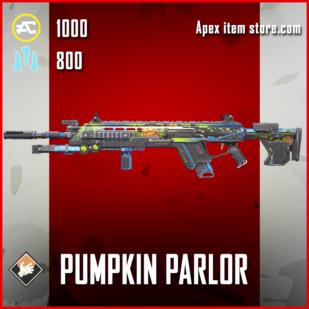 Pumpkin Parlor spitfire epic apex legends skin