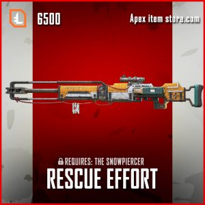 Rescue Effort legendary apex legends kraber skin