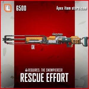 Rescue-Effort