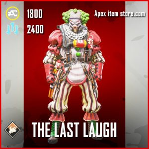 The Last Laugh Caustic apex legends skin
