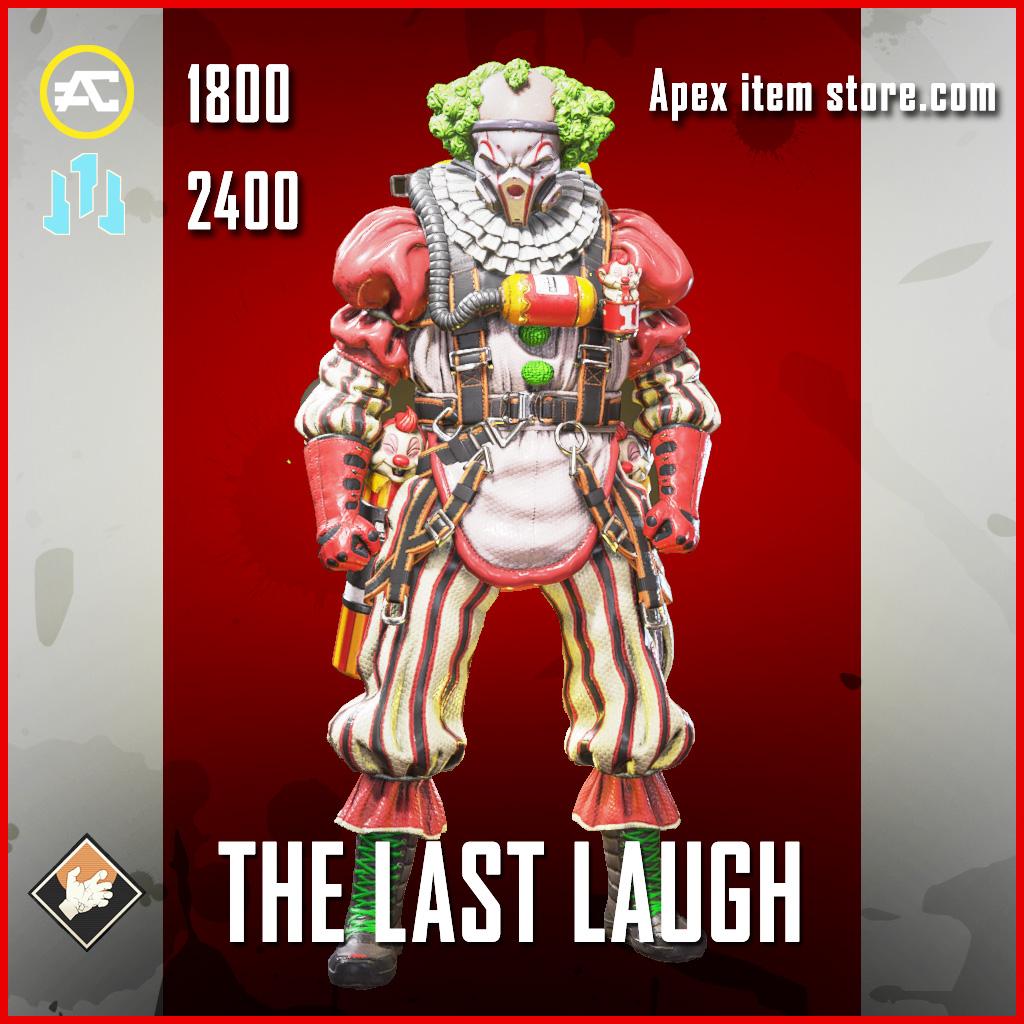 The Last Laugh Caustic apex legends skin