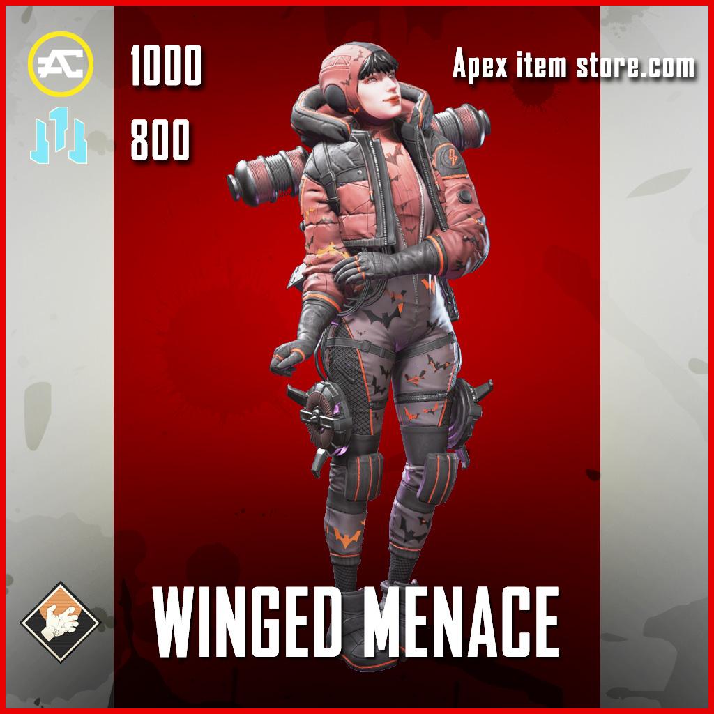 Winged Menace Wattson apex legends skin