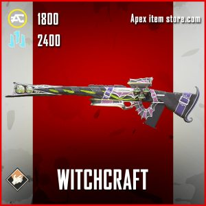 Witchcraft Legendary Triple Take apex legends skin