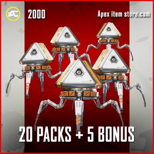 20 Packs + And 5 Bonus Packs Apex Legends Black Friday