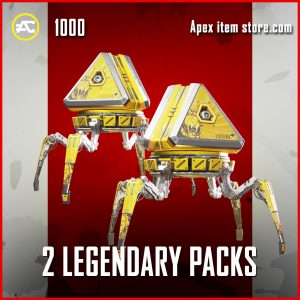 2 Legenary Packs Apex Legends Black Friday
