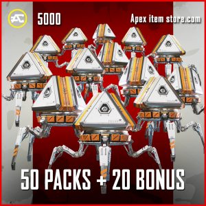 50 Packs + And 20 Bonus Packs Apex Legends Black Friday