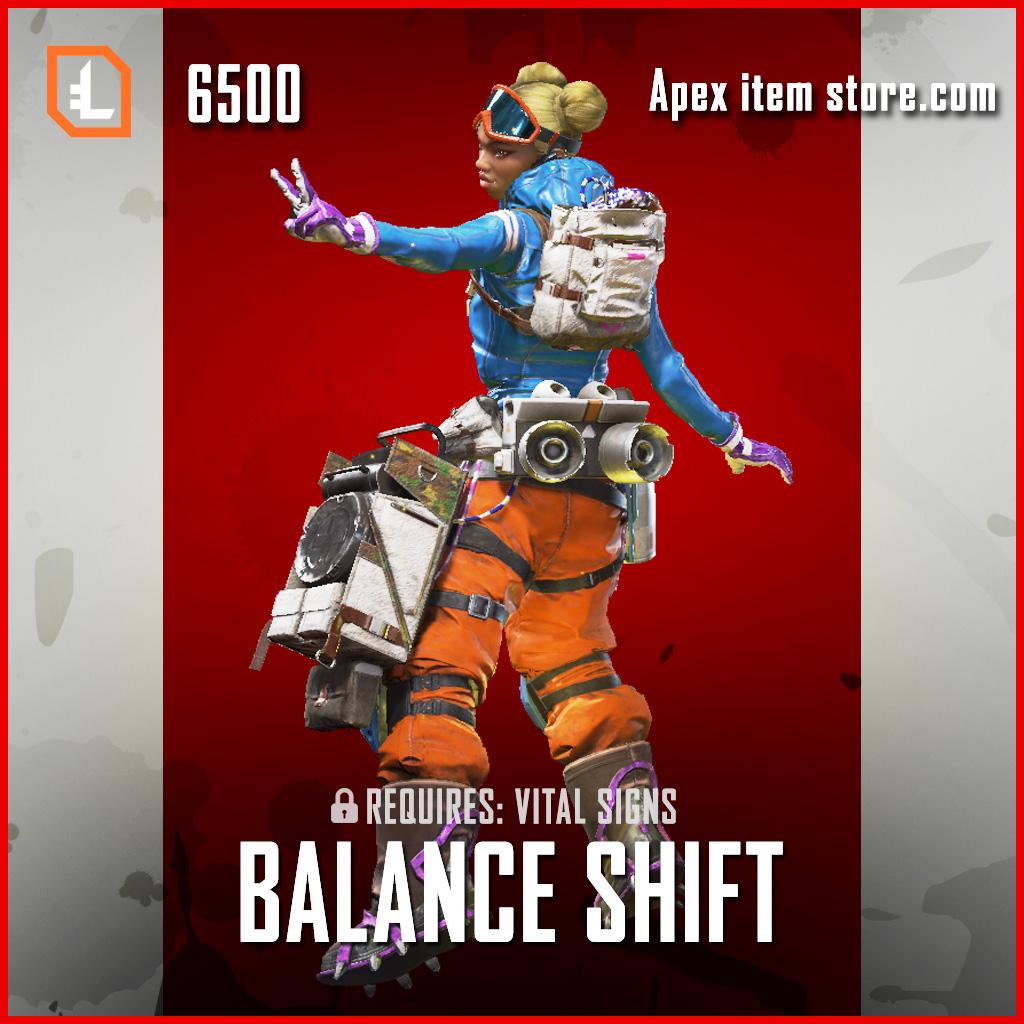 Balance Shift Lifeline Apex Legends legendary skin