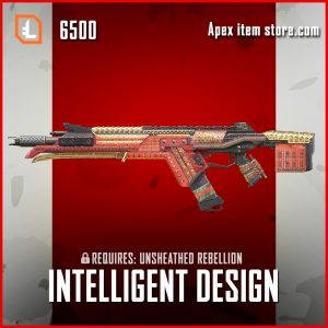 Intelligent Design R-301 Legendary apex legends skin