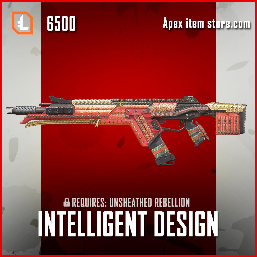 Intelligent Design R-301 Legendary apex legends skin
