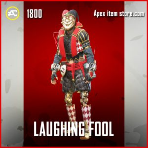 Laughing Fool Octane Legendary Apex Legends Skin