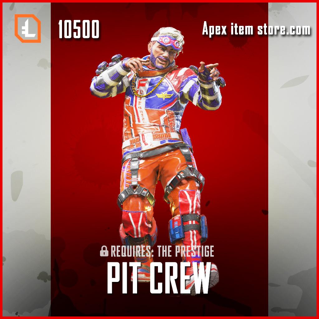 Pit Crew Mirage legendary apex legends skin