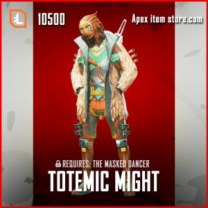 Totemic Might Crypto Legendary Apex legends skin