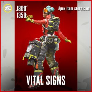 Vital SIgns Lifeline Apex Legends legendary skin