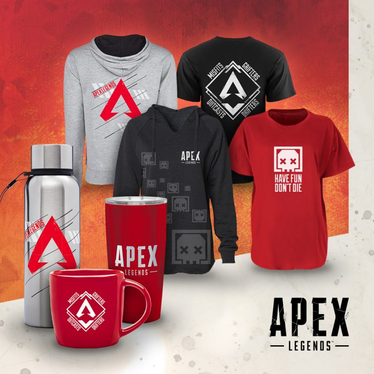 Apex Legends Official Merch Launched