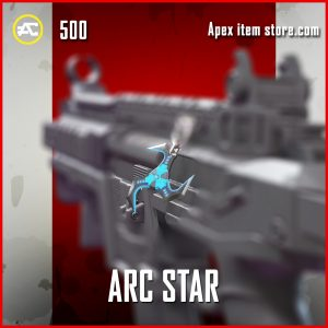 arc star Charm epic apex legends skin
