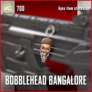 bobblehead bangalore legendary charm apex legends