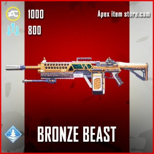 Bronze Beast devotion epic apex legends skin