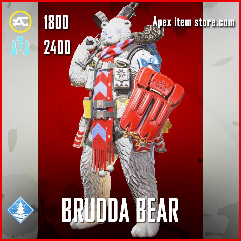 Brudda Bear Gibraltar Legendary Apex Legends skin