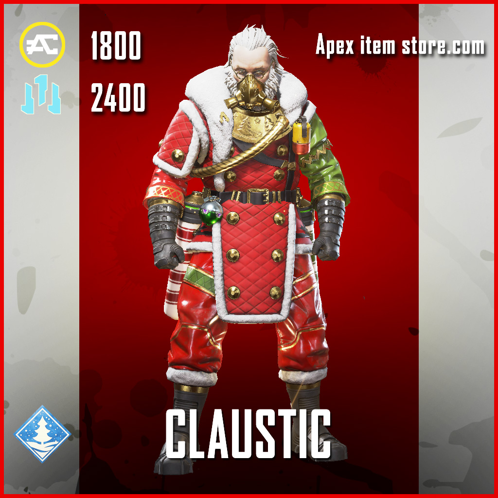 Claustic Caustic Legendary Apex Legends skin