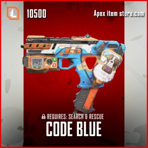 Code blue alternator legendary apex legends skin