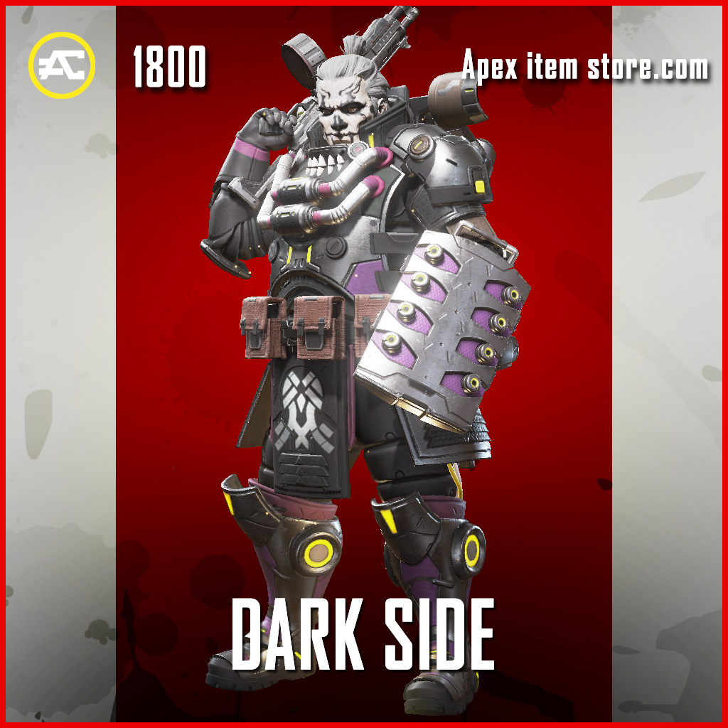 Dark Side gibraltar legendary apex legends skin