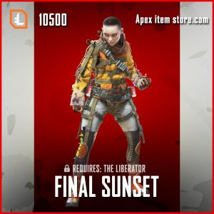 Final Sunset legendary apex legends wraith skin