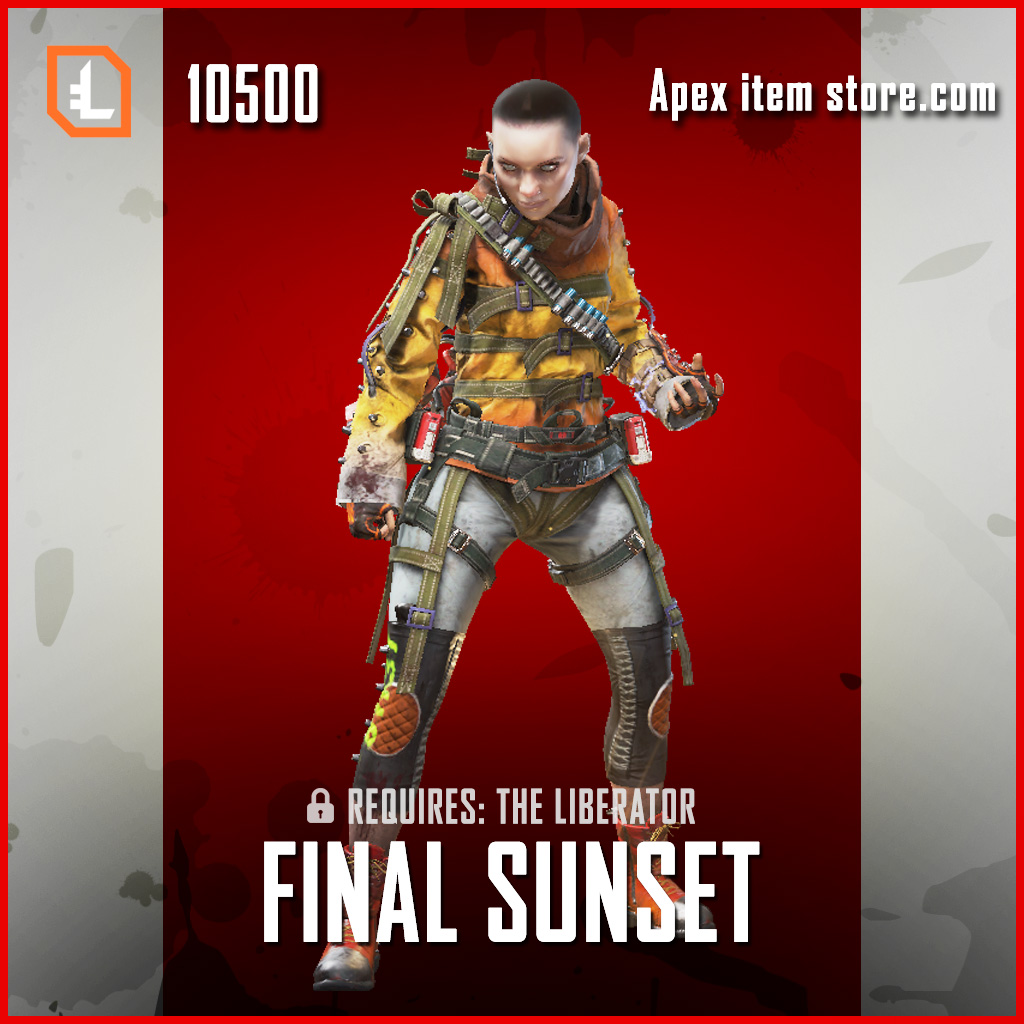 Final Sunset legendary apex legends wraith skin