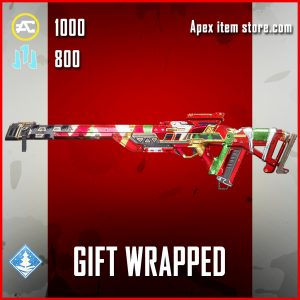 Gift Wrapped Triple Take Epic Apex Legends SKin