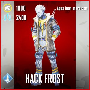 Hack Frost Crypto Legendary Apex Legends skin