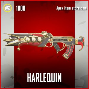 Harlequin Flatline Legendary Apex Legends Skin