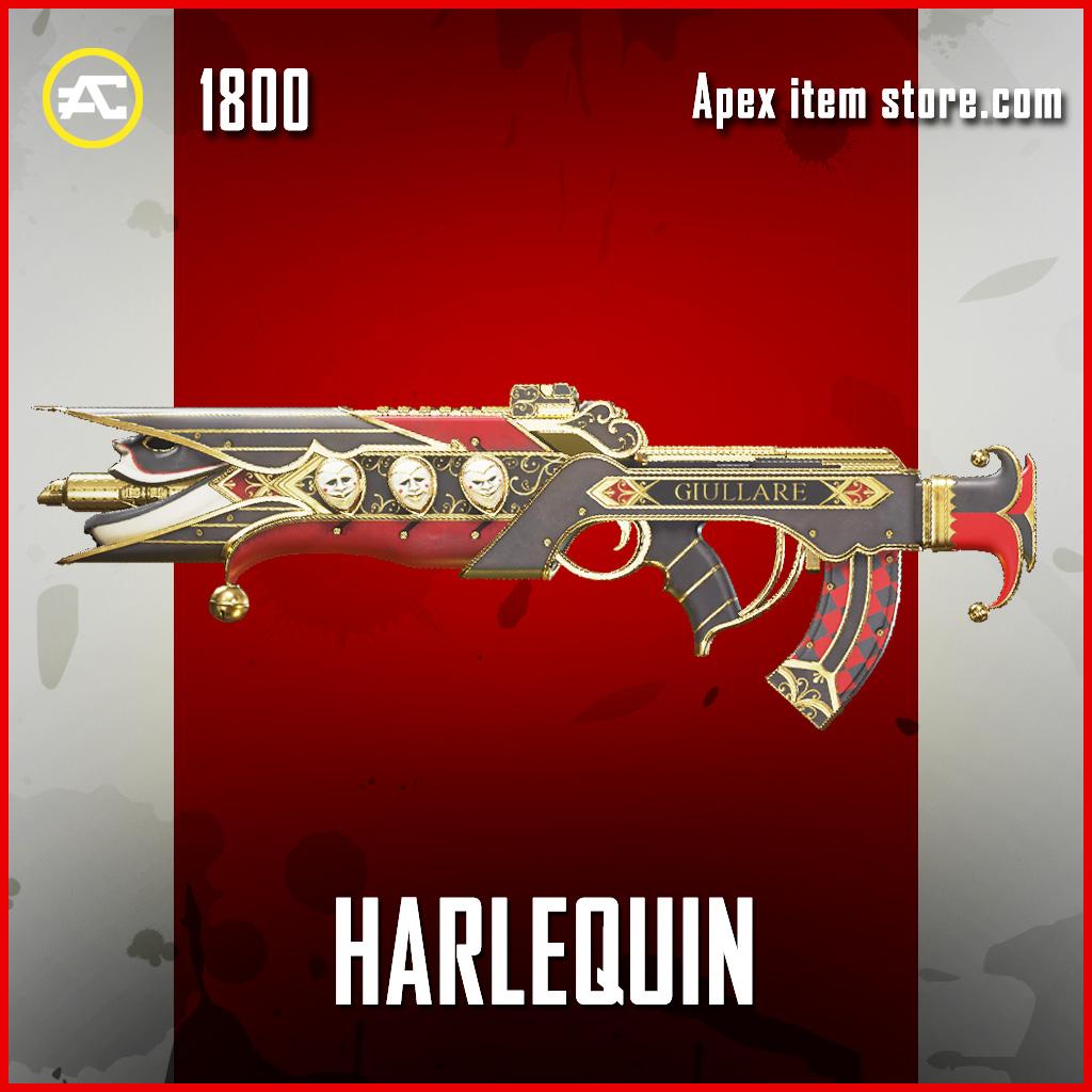 Harlequin Flatline Legendary Apex Legends Skin