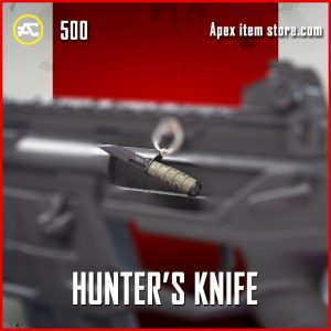 Hunter's Knife epic charm apex legends