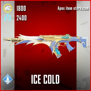 Ice Cold R-301 legendary apex legends skin