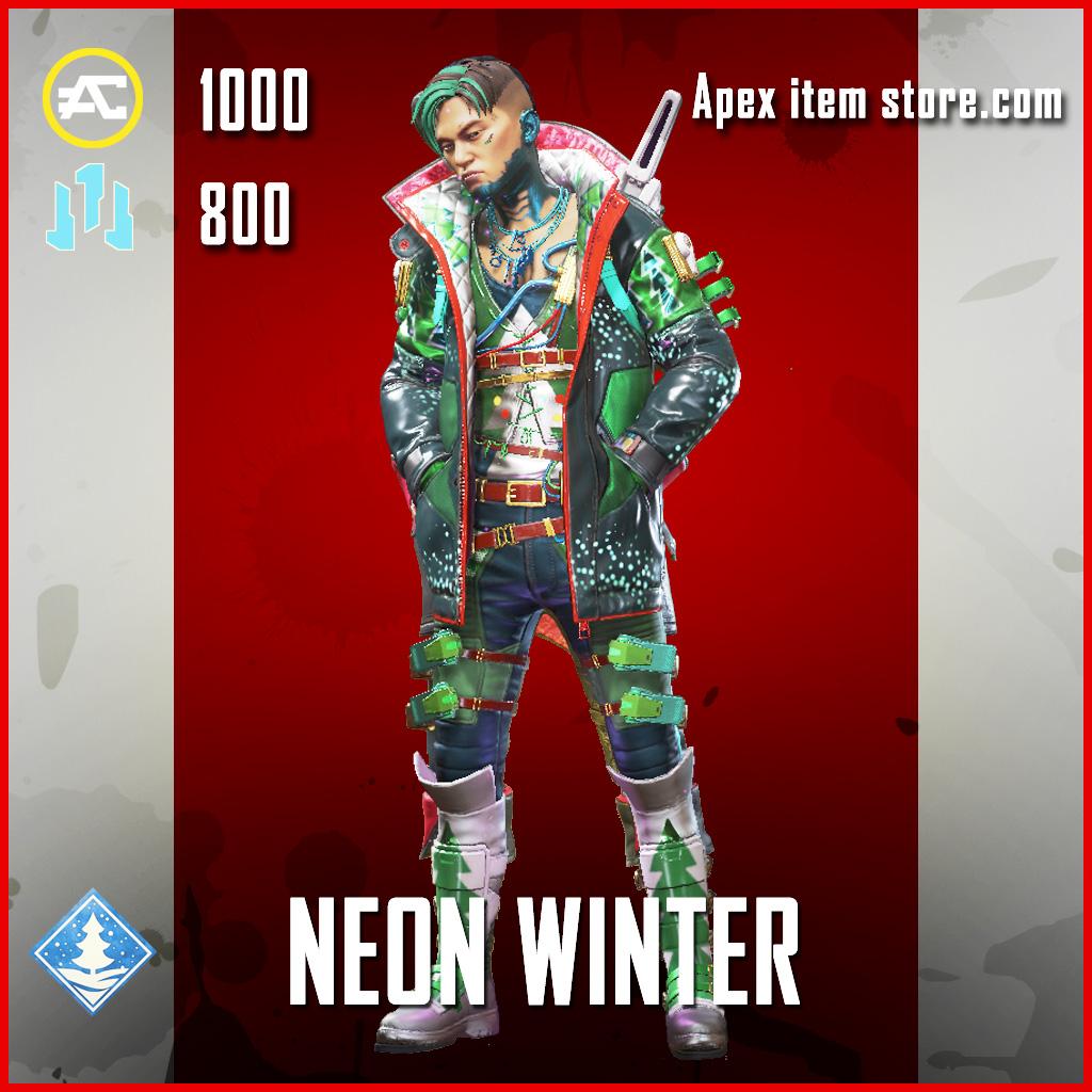 Neon Winter Crypto Epic Apex Legends skin